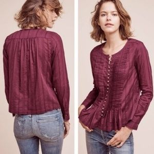 Anthropologie Maeve Size Large long sleeve blouse